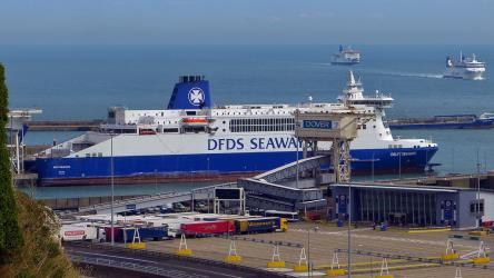 DFDS Seaways at Dover Port