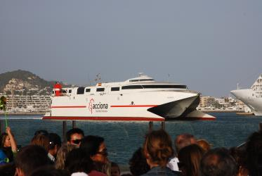 Exterior of Acciona Fast ferry