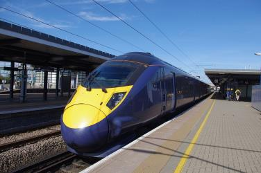Javelin highspeed train