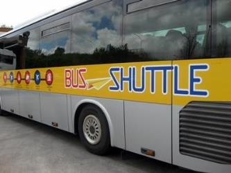 SitBus Shuttle bus side