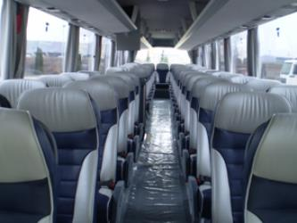 Interior of new buses