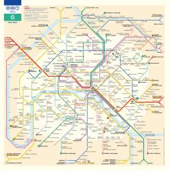 Paris RER Metro map