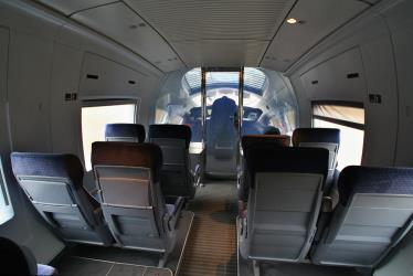 The front lounge of an ICE 3 (2nd class)