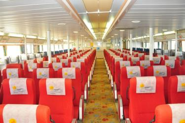 Interior of Dodekanisos Seaways