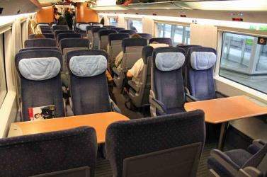 ICE3 2nd class seats
