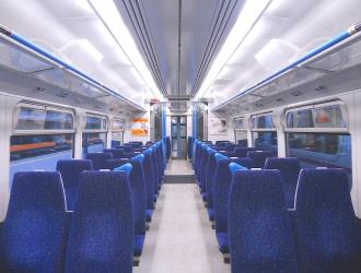 Great Northern Class 365 Standard Class interior seating
